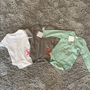 3 Fun Girl bodysuits, NWT